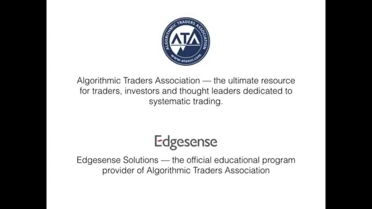 Systematic trading, algorithmic trading and the CAT® certification ...