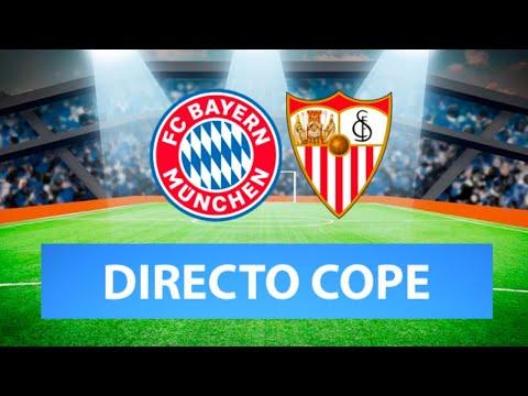 (SOLO AUDIO) Directo del Bayern 2-1 Sevilla en Tiempo de Juego COPE