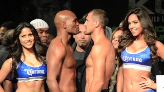 Bernard Hopkins vs. Sergey Kovalev Full weigh in + Intense face off
