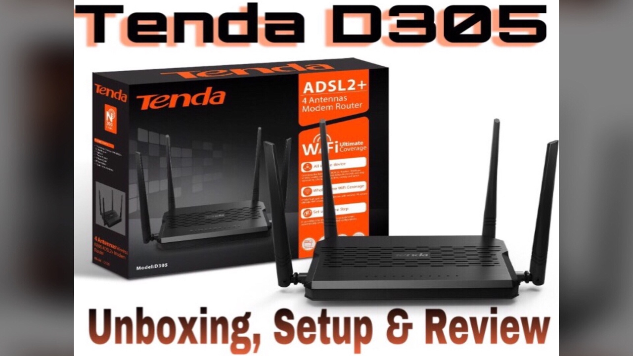 Tenda D305 Router Drivers for Windows XP