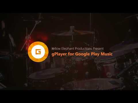 gPlayer for Google Play Music | WINDOWS 10