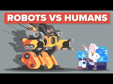 Humans vs Robots - Are YOU Becoming Obsolete?