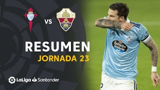 Resumen de RC Celta vs Elche CF (3-1)