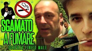 PAPÀ  MI SCOPRE FUMARE (SCHERZO EPICO FINITO MALE) thumbnail