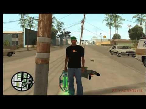 GTA San Andreas:como tener la arma antigravedad
