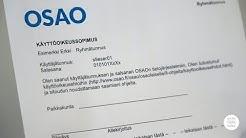 OSAO - käyttäjätunnus ja salasana