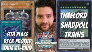Yugioh Omaha, NE Regional 8th Place Deck Profile - Timelord Shaddoll Trains - Taha Al-Baaj