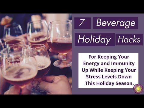 7 Beverage Holiday Hacks for Immunity I Easy Upgrades
