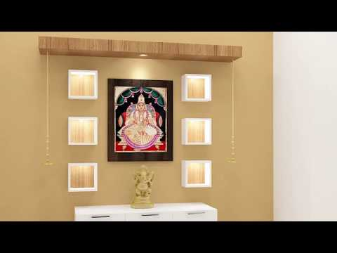 Wooden Pooja Mandir For Home | Scale Inch