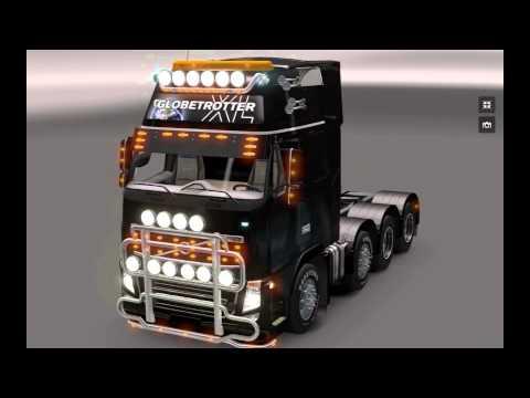 Euro Truck Simulator 2 Volvo Tuning 8×4 Mod v 1.5