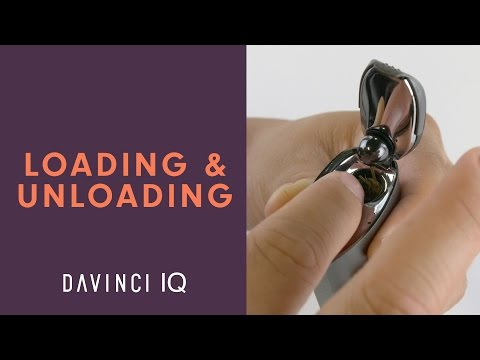How To Load and Unload Your DaVinci IQ - DaVinciVaporizer.com