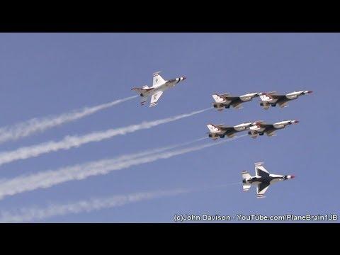 2014 Joint Base MDL Open House (Sunday) - USAF Thunderbirds