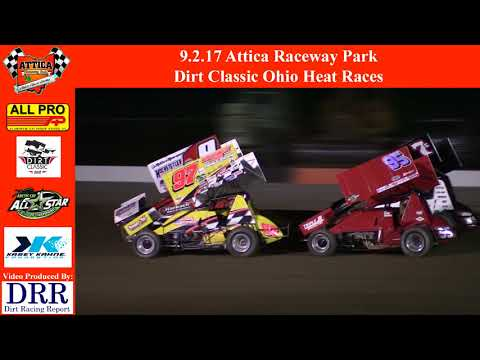 9.2.17 Attica Raceway Park - Dirt Classic Ohio Heat Races