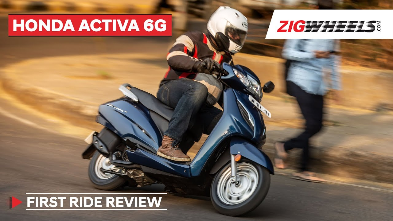 Honda Activa 6g First Ride Review India S Favourite Scooter Now Overhauled Zigwheels Youtube
