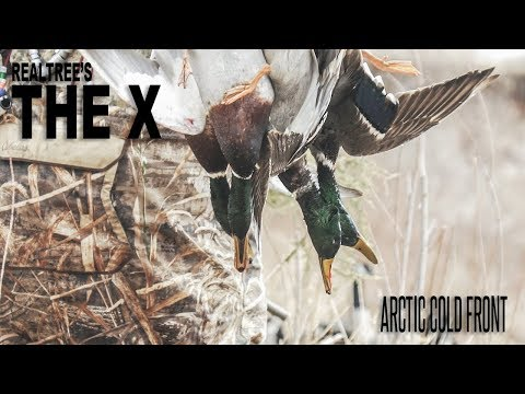 The X: River Duck Hunting In Arctic Cold