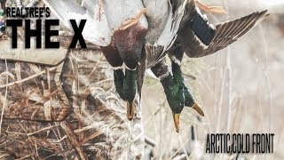 The X River Duck Hunting In Arctic Cold