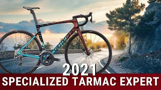 2021 Specialized Tarmac Expert SL7 Disc Brake Road Bike Weight And Review Of Features