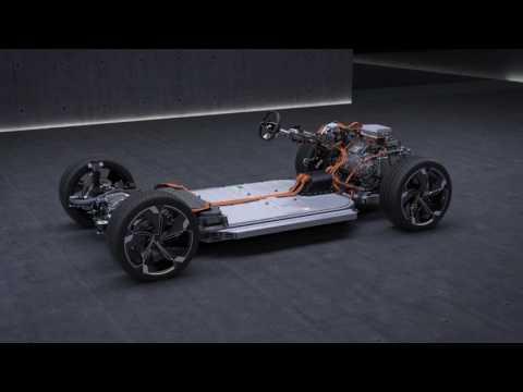 Audi E-Tron Sportback concept technical presentation