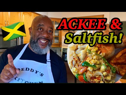 How To Make Ackee And Saltfish!