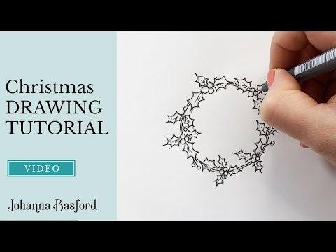 Christmas Drawing Tutorial! thumbnail