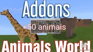 Addon Animals World para minecraft PE