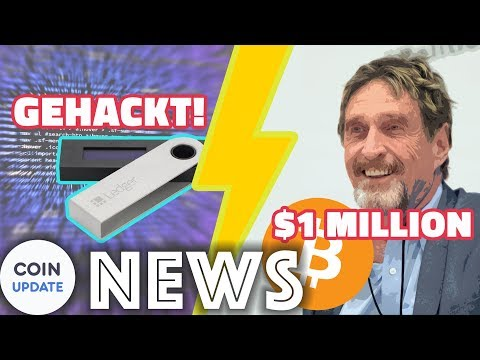 Ledger gehackt | McAfee bestätigt 1 Million Dollar Prognose - Krypto News 05.02.2018