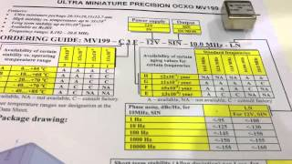 Quartz oscillators low noise high frequency sales@dmphotoni