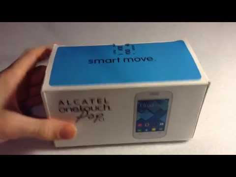 Alcatel One-Touch Pop C1 Unboxing