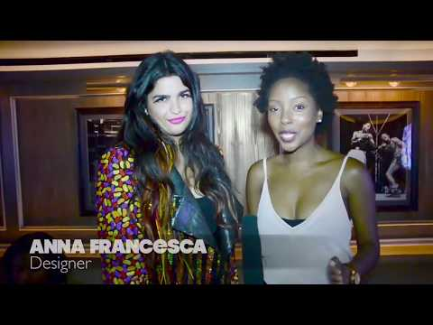 Anna Francesca Introduces The Holy Grail At The 40/40 Club During NYFW