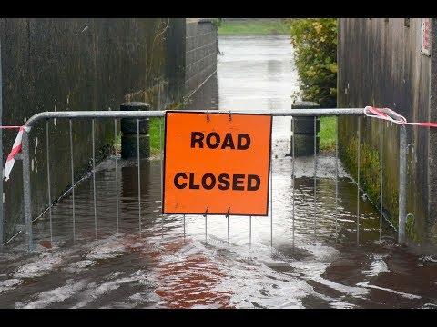 Sligo in Ireland , before storm Brian, travel, hotels, tourism golf course