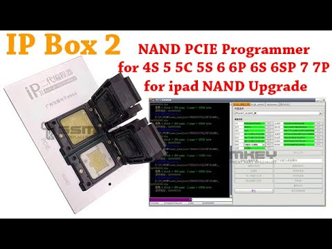 IP Box 2 is a high speed programmer for iphone / ipad