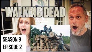 The Walking Dead - 9x2 The Bridge - Reaction