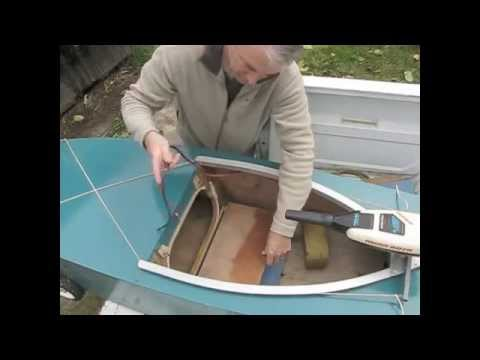 One sheet wood electric, paddle, sail boat