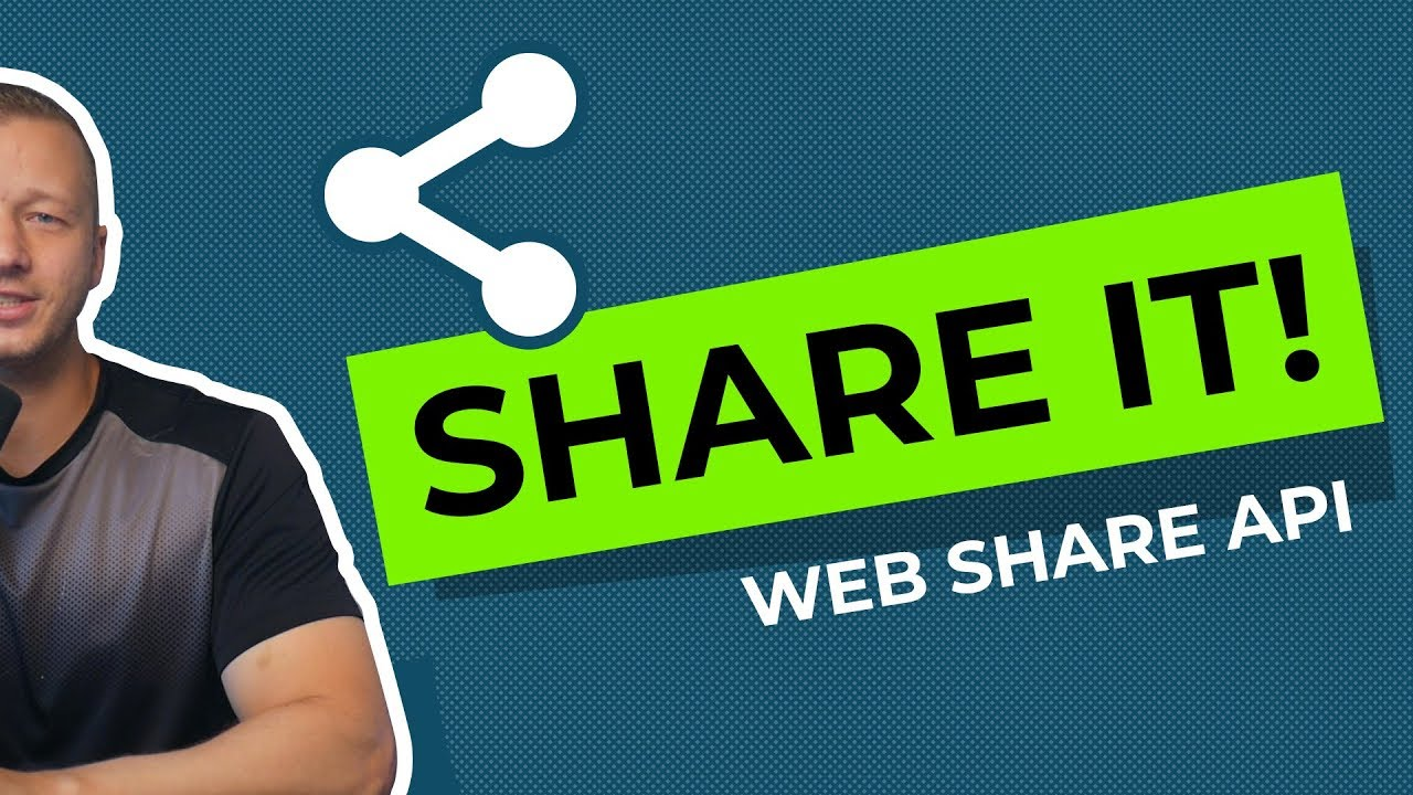 Web Share API Tutorial - Native Sharing is Easy!