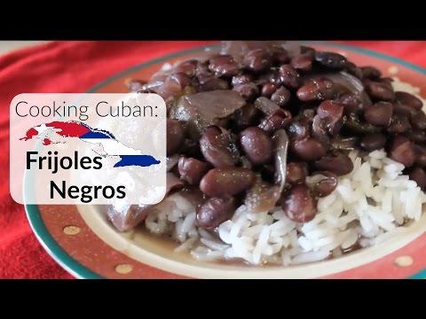 Cooking Cuban - Frijoles Negros (Black Beans)