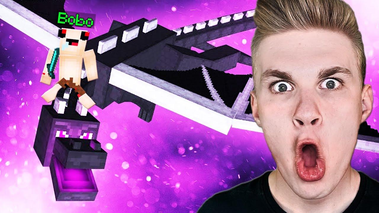 PIERWSZY RAZ BOBO w Minecraft! 😱