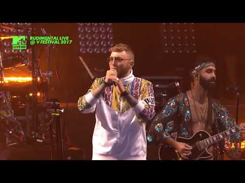 RUDIMENTAL Ft. JAMES ARTHUR - Sun Comes Up LIVE @ V FESTIVAL 2017