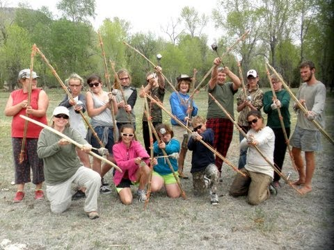 Wilderness Survival and Primitive Living Skills: Harrison Junior High Camping Trip 2013