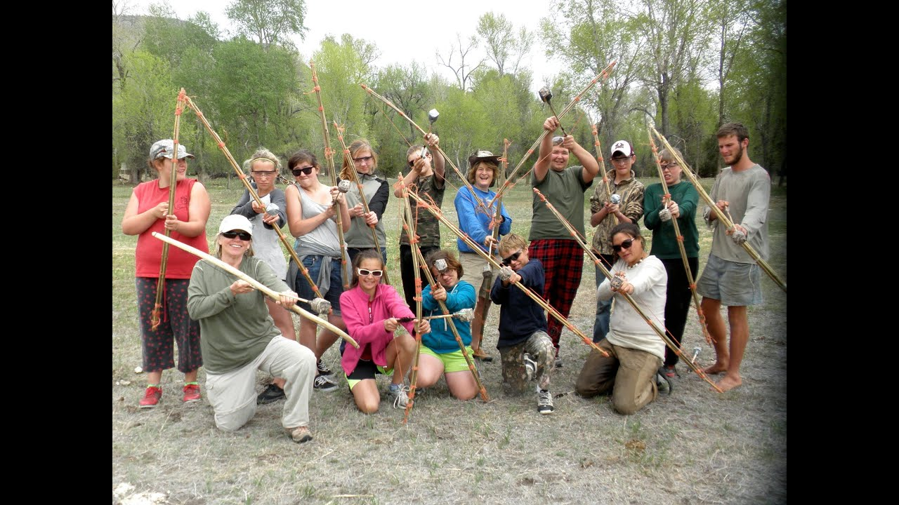Genial Wilderness Survival And Primitive Living Skills: Harrison Junior High  Camping Trip 2013   YouTube