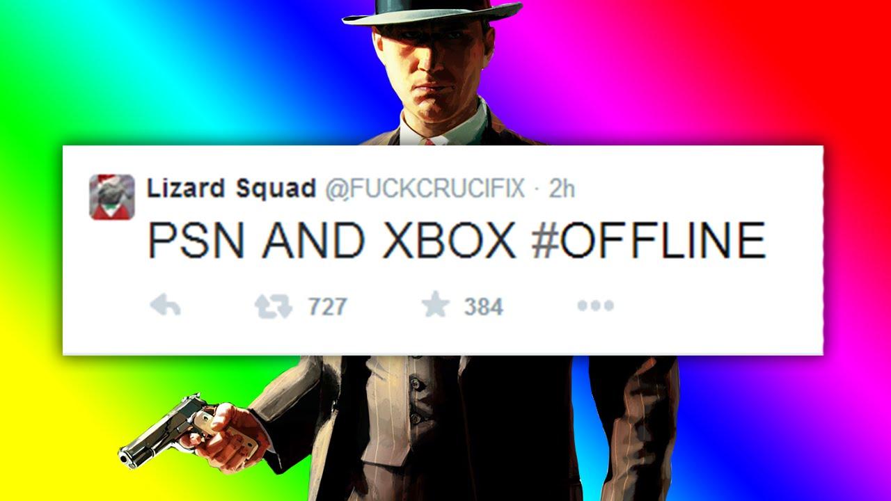 XBOX LIVE & PSN SERVERS OFFLINE CHRISTMAS DAY - Lizard Squad Attack Xbox  Live & PSN Servers!