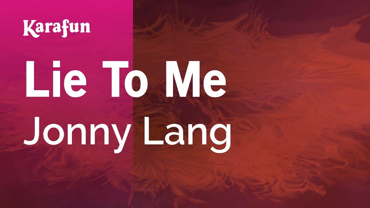 Jonny Lang Lie To Me Youtube
