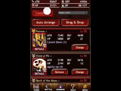 Dark Summoner Demon Team