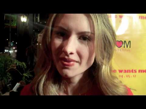 """Caitlin Thompson: """"She Wants Me"""" Premiere After Party Interview"""