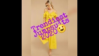 Trendiest Jumpsuits 2020