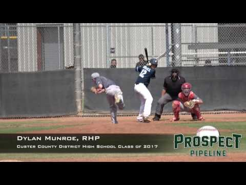 Dylan Munroe Prospect Video, RHP, Custer County District High School Class of 2017