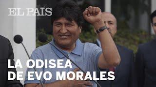 La odisea de Evo Morales para llegar a México