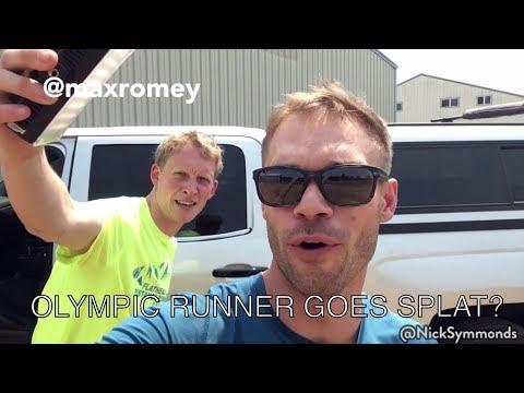 OLYMPIC RUNNER GOES SPLAT? | 033
