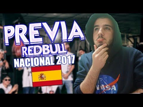 PREVIA RED BULL NACIONAL ESPAÑA 2017