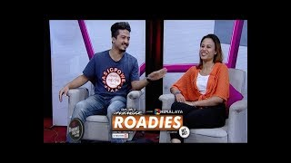 RIYA AND BIKASH | HIMALAYA ROADIES JOURNEY |  LIVON-THE EVENING SHOW AT SIX