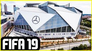 FIFA 19 NEW STADIUMS